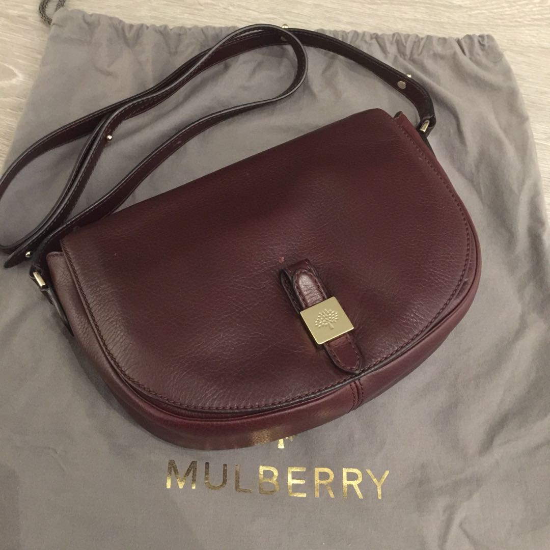 3473414bb433 Mulberry Tessie Satchel Soft Small Grai