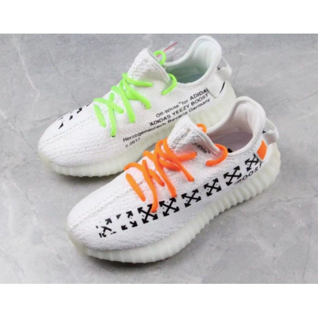 deb04477fab9b New OFF white x Adidas Yeezy 350V2 Boost
