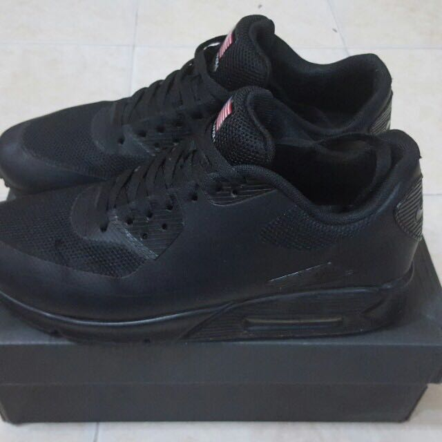 b988af3b99946b Nike Air Max 90 hyperfuse independence day black