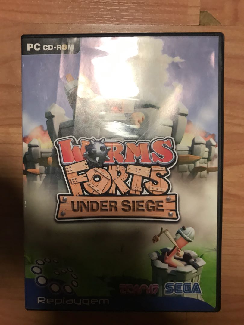 PC Game (Worms Forts: Under siege)