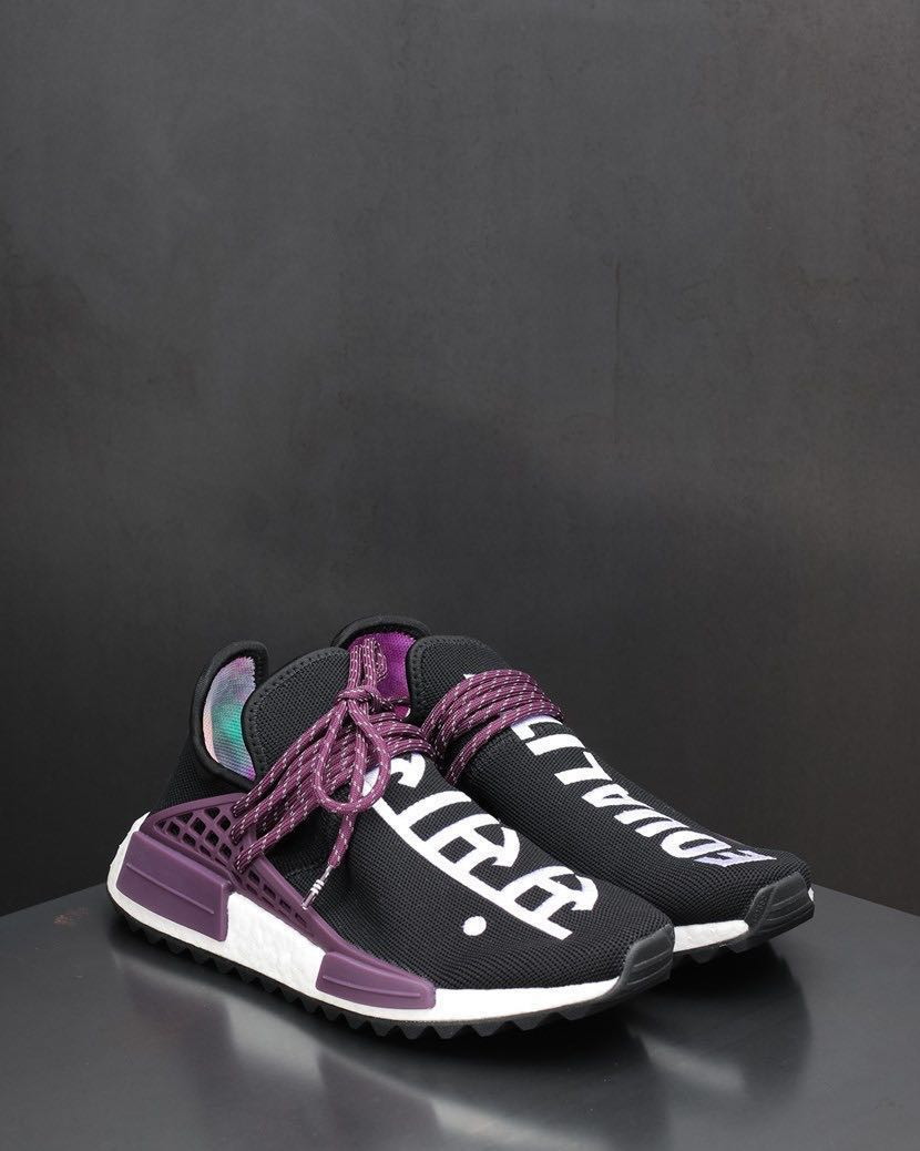 best authentic c0da1 79139 Pharrell Williams x Adidas HU NMD Holi - Core Black AC7033 (UK 4 / US 4.5)
