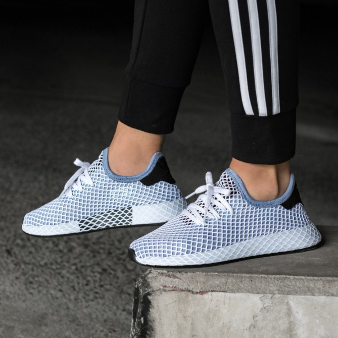 d33dc99c2e656 PO) Adidas Womens Deerupt Runner Chalk Blue