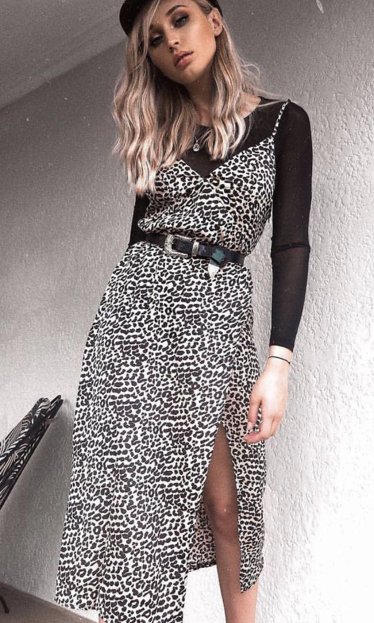 Princess Polly Leopard Print Maxi Dress