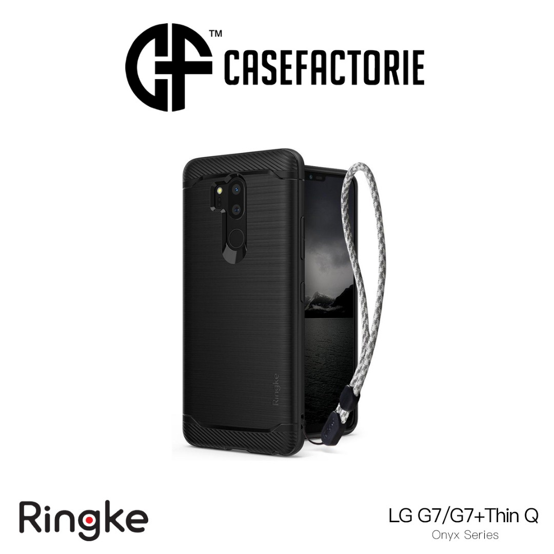 Ringke Onyx Case For Lg G7 Thinq Mobile Phones Tablets Iphone Xs X Spigen Anti Shock With Stand Slim Armor Casing Satin Silver Tablet Accessories Cases Sleeves On Carousell