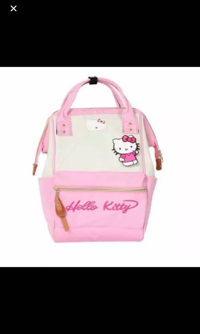 d458de06babb Sales!!! Last set left !! Anello hello Kitty Bag Brand New Ht 38cm ...