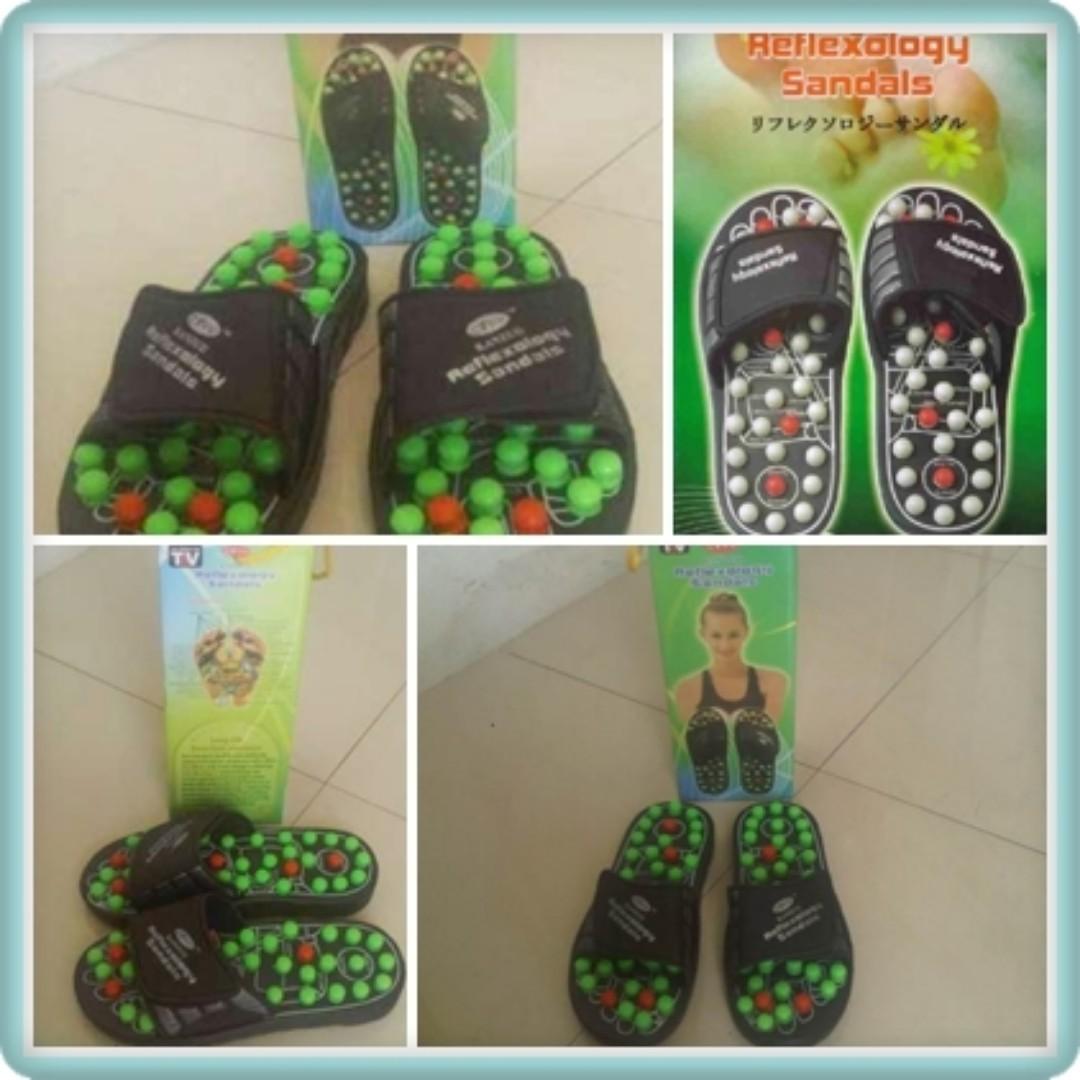Sandal Sendal Refleksi Kesehatan Kanzuii Reflexology Sandals Photo