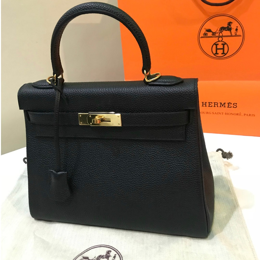 9bf27632550b6 ... black 587ce a6517  new zealand super sale hermes kelly 28 preloved  womens fashion bags wallets on carousell bd94a 84a69
