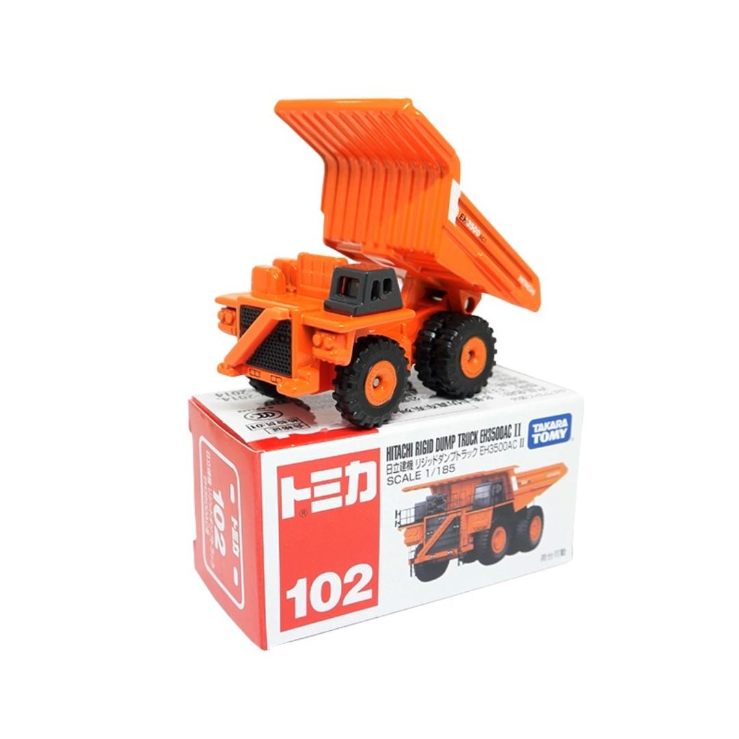 Takara Tomy Tomica No.102 Hitachi Rigid Dump Truck EH3500AC II (Box), Toys & Games, Bricks & Figurines on Carousell