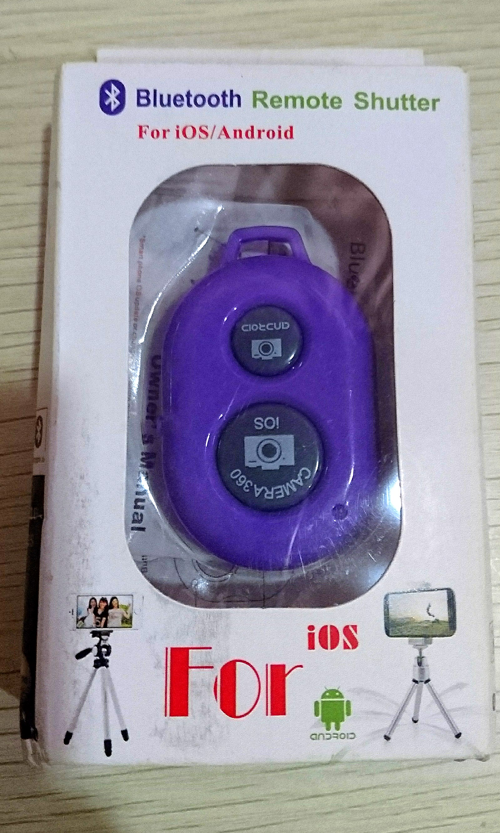 Tomsis Bluetooth Remote Shutter Fotografi Di Carousell