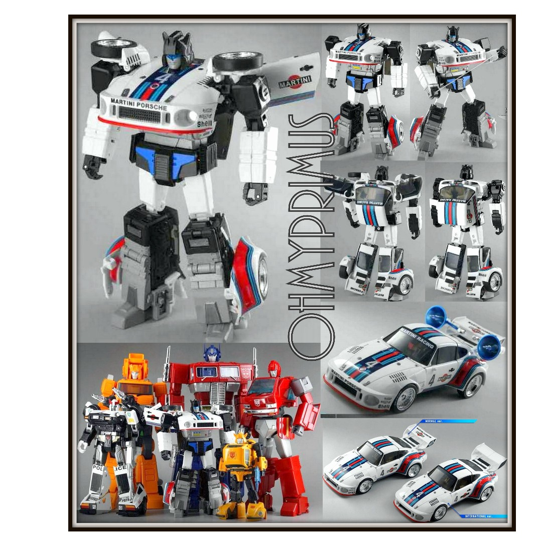 Transformers Transform and Rollout TnR TR-01 Agent Meister MP JAZZ Stock