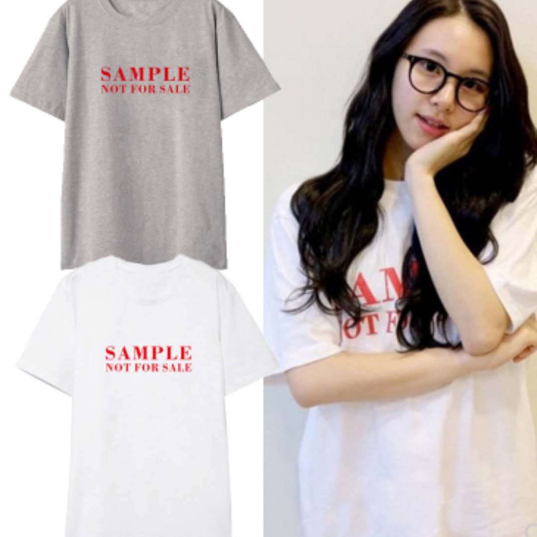 TWICE Chaeyoung Sample T-shirt, Entertainment, K-Wave on