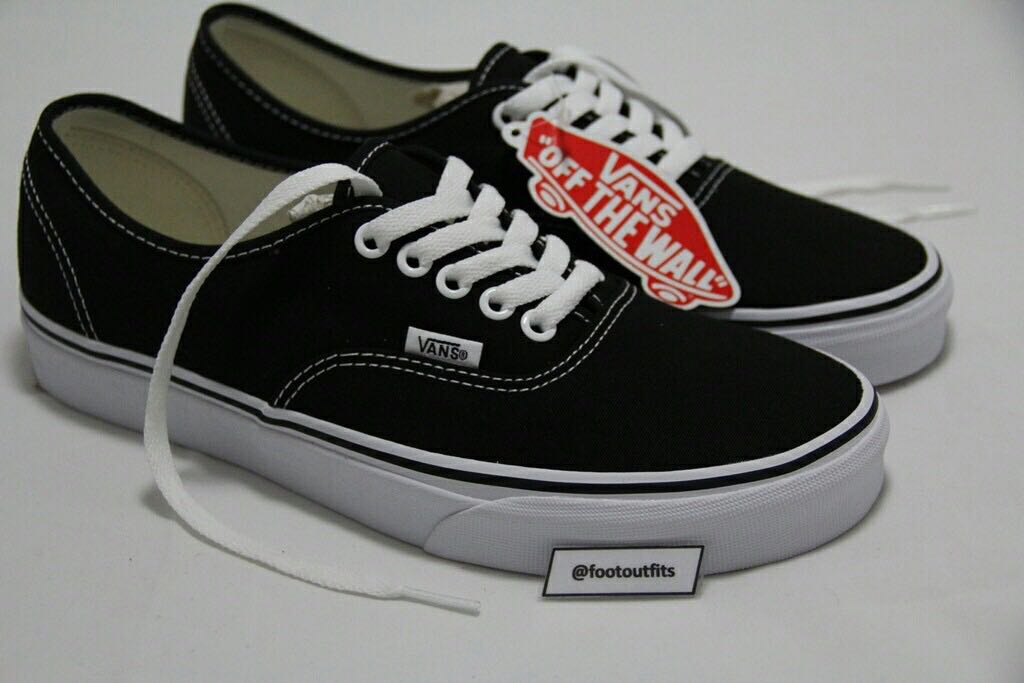 6d348eb0c0 Vans Authentic Classic Black White (Original 100%)