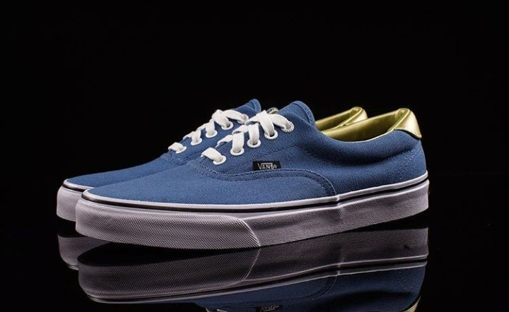 Vans era anniversary 50th blue gold 7e1101fb6b