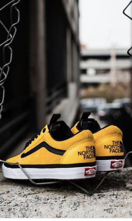 ed783ec9b1 Vans Old Skool MTE DX X The North Face Yellow