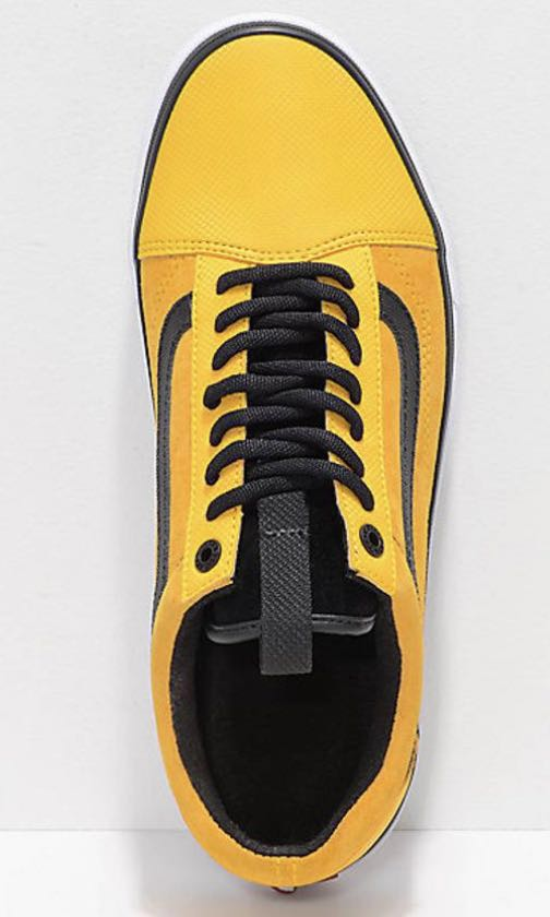 Vans Old Skool MTE DX X The North Face Yellow 78f213aa6