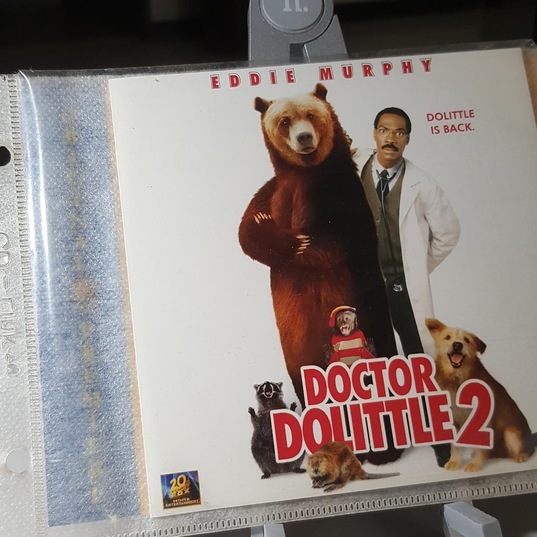 Vcd Dr Dolittle 2 2001 Music Media Cd S Dvd S Other Media On Carousell
