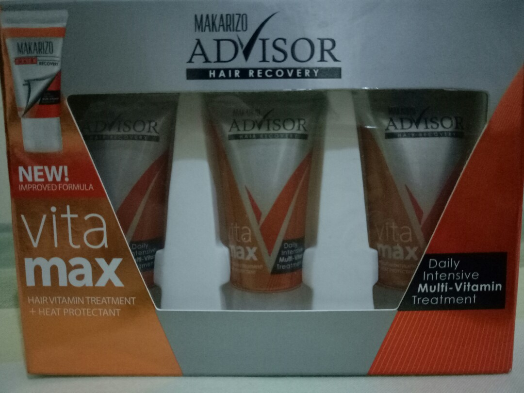 Makarizo Advisor Vitamax Hair Recovery Perbaikan Rambut 8 Ml Beli 2 Vitamin Produk Terbaik Wiki Harga Source Photo