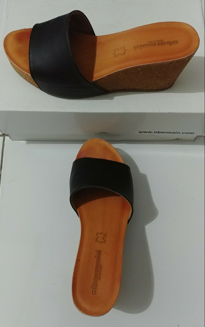Wedges Obermain Leather
