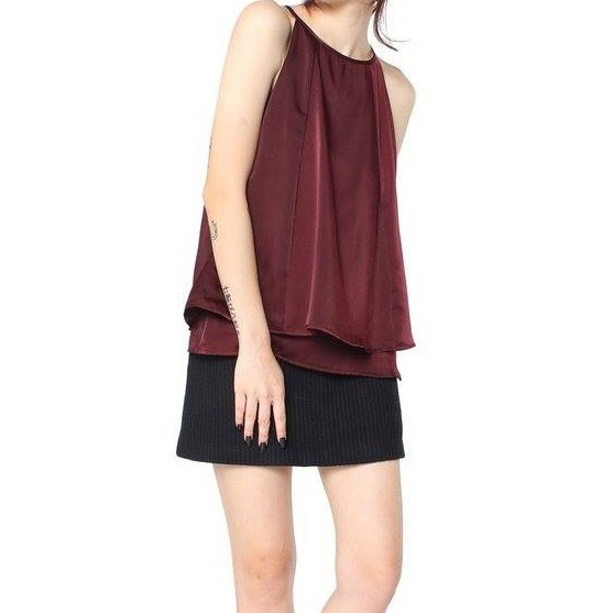 YOUNGHUNGRYFREE Satin Top
