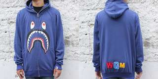 Jaket Bape shark