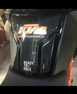 KTM duke tank pad set