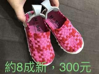 HABU編織女童休閒鞋