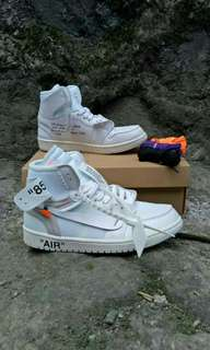Nike Air Jordan Retro 1 High X Off white  ready