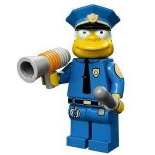 Lego 71005 Simpsons - Chief Wiggum Sealed