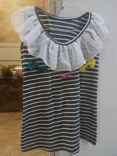 Baju anak Model garis pita