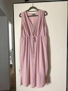 ASOS Maternity/Nursing Dress (Pink)