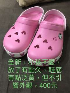 crocs女童(誠可議)
