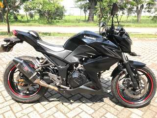 Kawasaki Ninja z250 fi black 2nd brg simpanan
