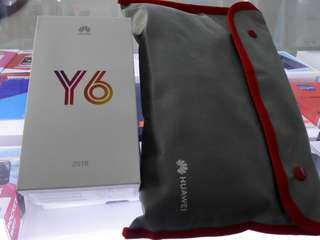 huawei y6 2018 with free bag