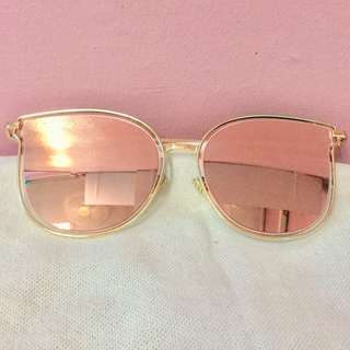 Pink Sunnies w/ Pouch