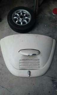 Vw beetle rear bonnet