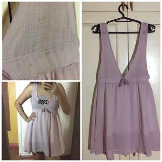 Light Pink Mini Dress