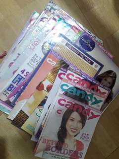 Face Reading/ Candy Gown and Beauty Pamphlets