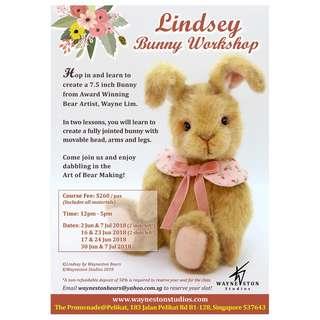 Lindsey Bunny Workshop