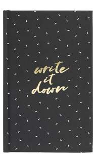 Write It Down Grid Notebook