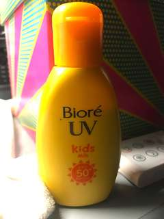 Biore UV Kids Milk Sunscreen