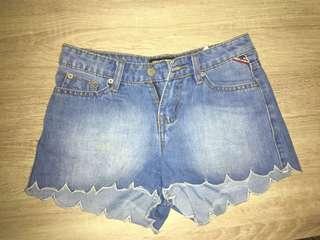 Scallops Shorts