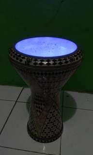 Darbuka Alexandria + lampu dance
