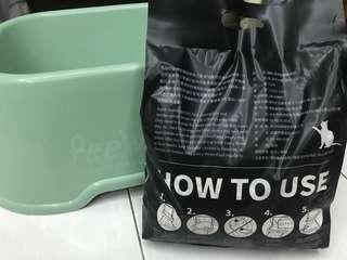 貓砂盆+貓砂