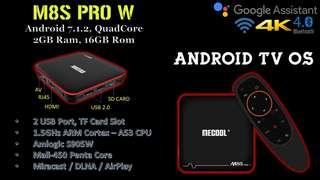 M8S Pro W (Android 7.1, Quadcore)