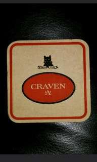 Vintage Craven 'A' Coaster