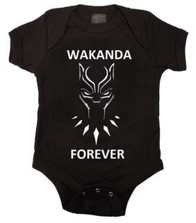 Marvel Black Panther Baby Romper
