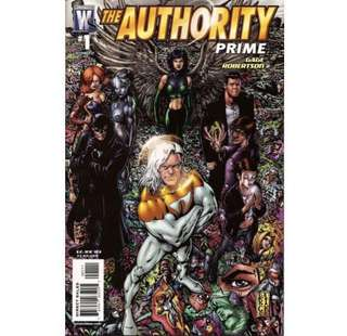 THE AUTHORITY: PRIME #1-6 (2007) Complete set