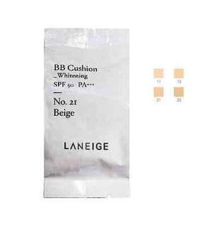 Laneige BB Cushion Refill Whitening 21 Beige