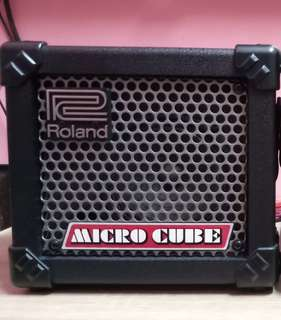 Roland micro cube amp