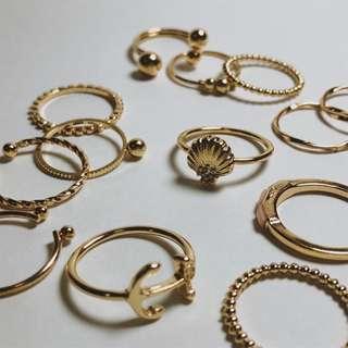 H&M Rings (#6-11)